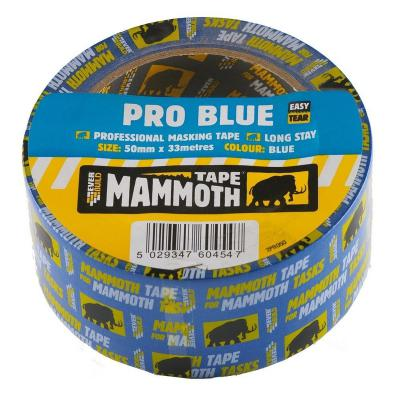 Everbuild Pro Blue Exterior Masking Tape 25mm x 33m (also available in 50mm)