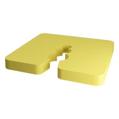 PVC Spacers 5mm (50) pieces yellow