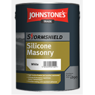Stormshield Silicone Masonry Paint - Magnolia 5ltr