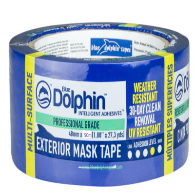 Blue Dolphin Tarp & Stucco Tape 48mmx50m