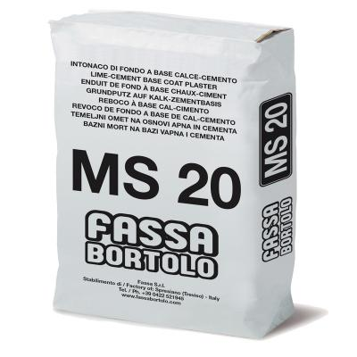 Fassa MS 20 Pre-Mixed One Coat Render