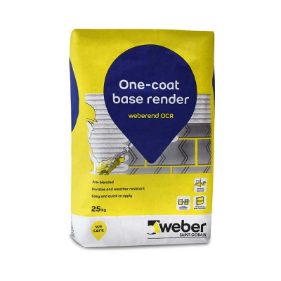 Weberend One Coat Render (OCR) 25kg