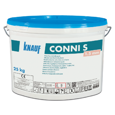 Knauf Conni S 1.5mm Silicone Topcoat - Pastel Colours / Price Group II