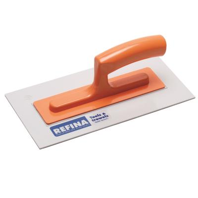 Refina White Nylon Plastic Trowel 11'' 3mm Thickness